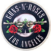 Guns N' Roses - Los Angeles Silver Printed Patch