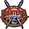 Pantera - Skull Knives Woven Patch