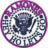 Ramones - Hey Ho Let's Go V1 Woven Patch