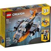 LEGO® Creator - Cyber Drone (113 Pieces)