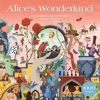 Brett Ryder - Alice's Wonderland Puzzle (1000 Pieces) - Cover