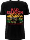 Bad Religion - Burning Black Unisex T-Shirt - Black (XX-Large)