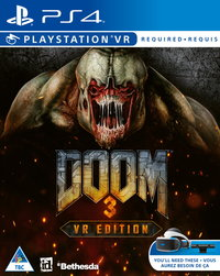 DOOM 3 VR Edition (PS4) - Cover