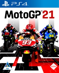 MotoGP 21 (PS4) - Cover