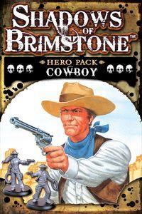 Shadows of Brimstone - Cowboy Hero Pack (Board Game)