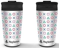 Playstation - Shapes Metal Travel Mug