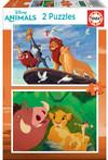 Educa - The Lion King 2 Puzzle Pack (2 x 48 Pieces)