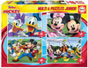 Educa - Micky & Friends 4 Puzzle Pack (20 / 40 / 60 / 80 Pieces)