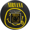 Nirvana - Smiley Photo Print Keychain