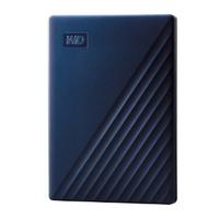 WD My Passport for Mac 4TB Portable Hard Drive - Blue