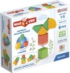 Geomag - Magicube Shapes 100% Recycled Plastics Starter Set (6 Pieces)