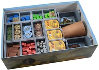 Folded Space - Board Game Box Insert - Stone Age & Expansions
