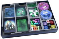 Folded Space - Board Game Box Insert - Pandemic & One the Brink / In the Lab / State of Emergency
