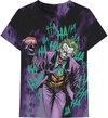 Joker - All Over Faded Unisex T-Shirt - Black (X-Large)