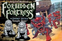 Shadows of Brimstone - Temple Dogs Enemy Pack (Board Game)