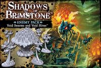 Shadows of Brimstone - Void Swarms and Void Hives Enemy Pack (Board Game)