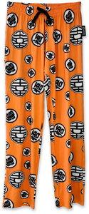 Dragon Ball Z - Symbol - Lounge Pants - Orange (X-Small)