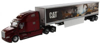 1/50 Peterbilt 579 Day Cab With Cat Mural Trailer