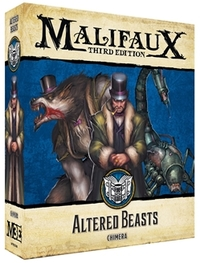 Malifaux: 3rd Edition - Arcanist: Altered Beasts (Miniatures) - Cover