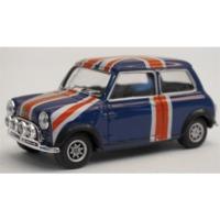 Cararama - 1/43 - Mini Cooper - Union Jack (Die Cast Model)