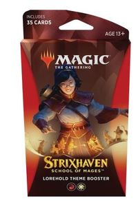 Magic: The Gathering - Strixhaven: School of Mages Theme Booster - Lorehold (Trading Card Game) - Cover