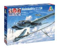 Italeri - 1/72 Heinkel He 111 H Battle of Britian 80th Anniversary (Plastic Model Kit) - Cover
