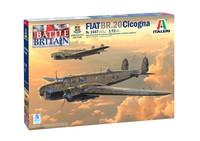 "Italeri - 1/72 Fiat Br.20 ""Cicogna"" - Battle of Britian 80th Anniversary (Plastic Model Kit)"