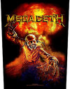 Megadeth - Nuclear Back Patch