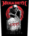 Megadeth - Tombstone Back Patch