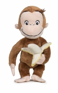 Curious George - Plush with Banana