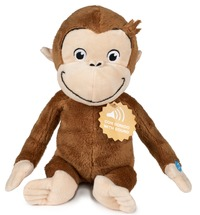 Curious George: Plush 30cm