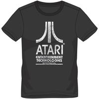 Atari - Entertainment Technologies Unisex T-Shirt - Black (Medium)