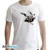 Marvel - Spider-Man Ink New Fit Unisex T-Shirt - White (Medium)