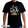 My Hero Academia - Heroes Basic Unisex T-Shirt - Black (XX-Large)