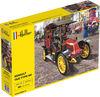Heller 1:24 - Renault Taxi Type AG (Plastic Model Kit)