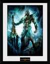 God Of War - Poseidon Framed Print