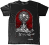 The Walking Dead - Stained Glass Unisex T-Shirt (Large)