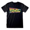 Back To The Future - Vintage Logo Unisex T-Shirt (X-Large)