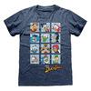 Ducktales - Squares Blue Unisex T-Shirt (XX-Large)