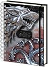 Game Of Thrones - Stark & Targaryen A5 Wiro Notebook