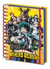 My Hero Academia - Radial Character Burst A5 Wiro Notebook