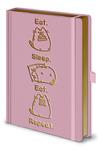 Pusheen - Eat. Sleep. Eat. Repeat. - Premium A5 Notebook