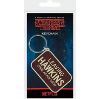 Stranger Things - Leaving Hawkins Rubber Keychain