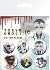 Tokyo Ghoul - Button Badges (Pack of 6)