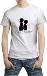 Your Name - Logo Unisex T-Shirt (Large)