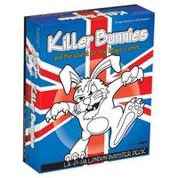Killer Bunnies and the Quest for the Magic Carrot - La-Di-Da London Booster Deck (Card Game)