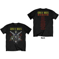 Guns N' Roses - Pistols & Roses Unisex T-Shirt - Black (Small)