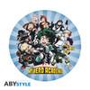 My Hero Academia - Heroes In Shape Mousepad