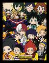 My Hero Academia - Chibi Characters Framed Print (30x40cm)