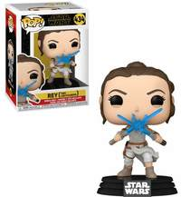 Funko Pop! Star Wars - Episode 9 - Rey With 2 Light Sabers - Cover